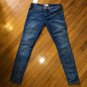 """Current/Elliot """"The Skinny"""" jean w/Color Crease"""